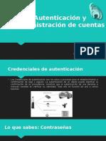 Autenticación y Administración de Cuentas