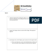 Part II - Constitution Webquest