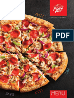 Pizza Hut Main Menu