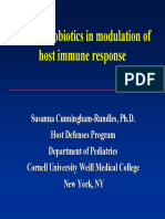 Probiotic in Mucusal Immunity