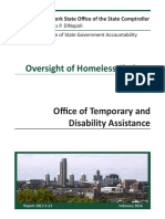 DiNapoli Homless Shelter Report