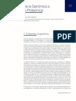 De La Genómica a La Proteómica Lo Mismo q Clase 2