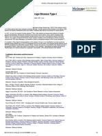Genetics of Glycogen-Storage Disease Type I