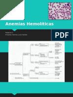 Anemias Hemolíticas