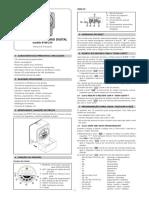 Programador Horário Digital - Modelo RTWT-16