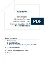 Valuation_slides_Week2_1 - No Friction Model and Frictions_MPA