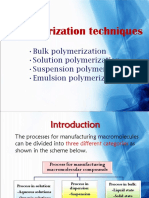 Bulk Polymerization 2015
