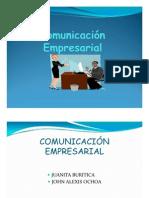 EXPOSICION COMUNICACION EMPRESARIAL