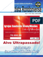 REVISTA BATISTA RONDONIENSE-CONVENÇÃO BATISTA DE RONDÔNIA Nº 3