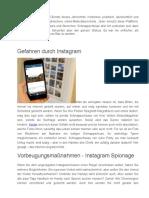 Wie Kann Man Instagram Spionage Mit iPhone Spion App Führen