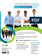 NAAAHR South Florida Chapter Career Essentials Application 2016