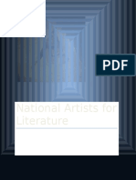 National Artists for Literature