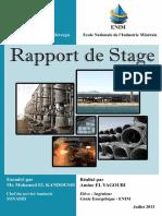 Rapport de Stage SONASID