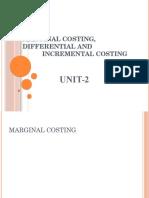 Unit -2 Marginal Costing