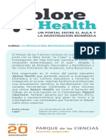 Flyer Explore Health_2016