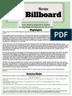 Florida Billboard - Week of Feb 12th, 2016