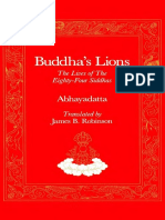 Abhayadatta's Buddhas Lions