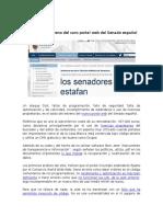 Caso Práctico Sitio Web Senado
