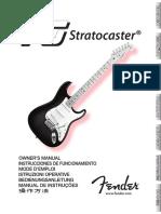 VG Stratocaster Manual