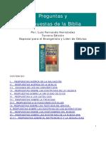 Luis Fernando Hernandez Preguntas y Respuestas de La Biblia