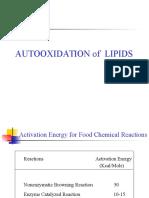 Autooxidation of Lipid