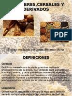 Presentación Legumbres, Cereales y Derivados