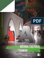 Cartelera Cultural Febrero 2016