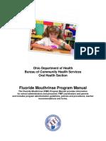 Fluoride Mouthrinse Program Manual