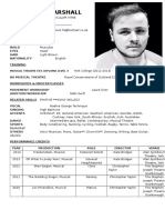 Callum's CV