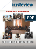Military Review Magazine - Counterinsurgency Reader I (Oct2006)