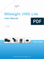 Milesight VMS Lite User Manual En