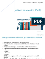 CDC1 Bluemix PaaS