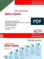 Aprendiendo Exportar Paso Paso EN PERU