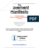 Movement Manifesto