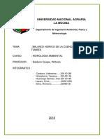 Hidrología Ambiental-Balance Hidrico de la cuenca del río Tumbes.pdf