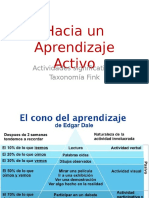 Orientación didáctica de actividades participativas
