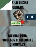Manual Para Elecciones Sindicales