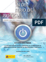Encarnación Roca Trias El Incumplimiento de Los Contratos en La Propuesta de Modernización Del Derecho de Obligaciones y Contratos