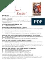 Ezekiel Fast Facts