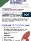 SEMIOLOGIA SINDROMES RESPIRATORIO