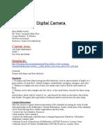 digital camera assignment  word