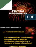 POLITICAS TERRITORIALES
