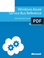 Windows Azure Service Bus Reference