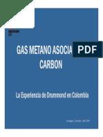 GasMetanoasociadoaCarbón DRUMMOND