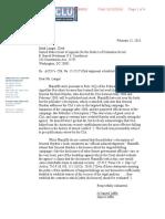 ACLU v. CIA Hayden Letter