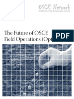 The Future of OSCE Field Operations (Options)