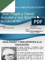 Piaget y Ausubel