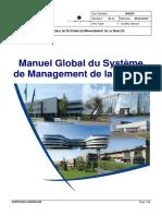 Manuel Global Du Système de Management de La Qualité