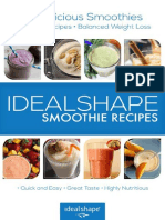 IdealShape Smoothie Recipes