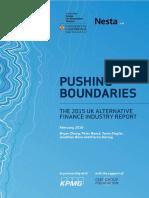 The Alternative Finance Industry Report